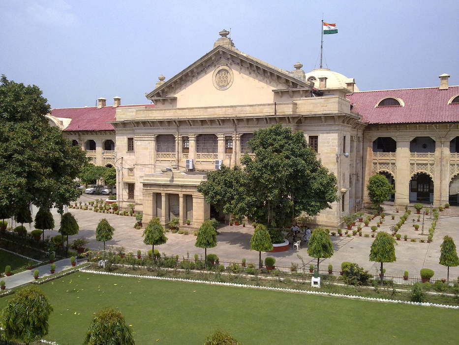 Allahabad High Court: High Court in Uttar Pradesh