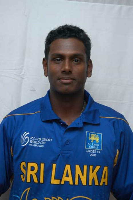 Angelo Mathews: Sri Lankan cricketer