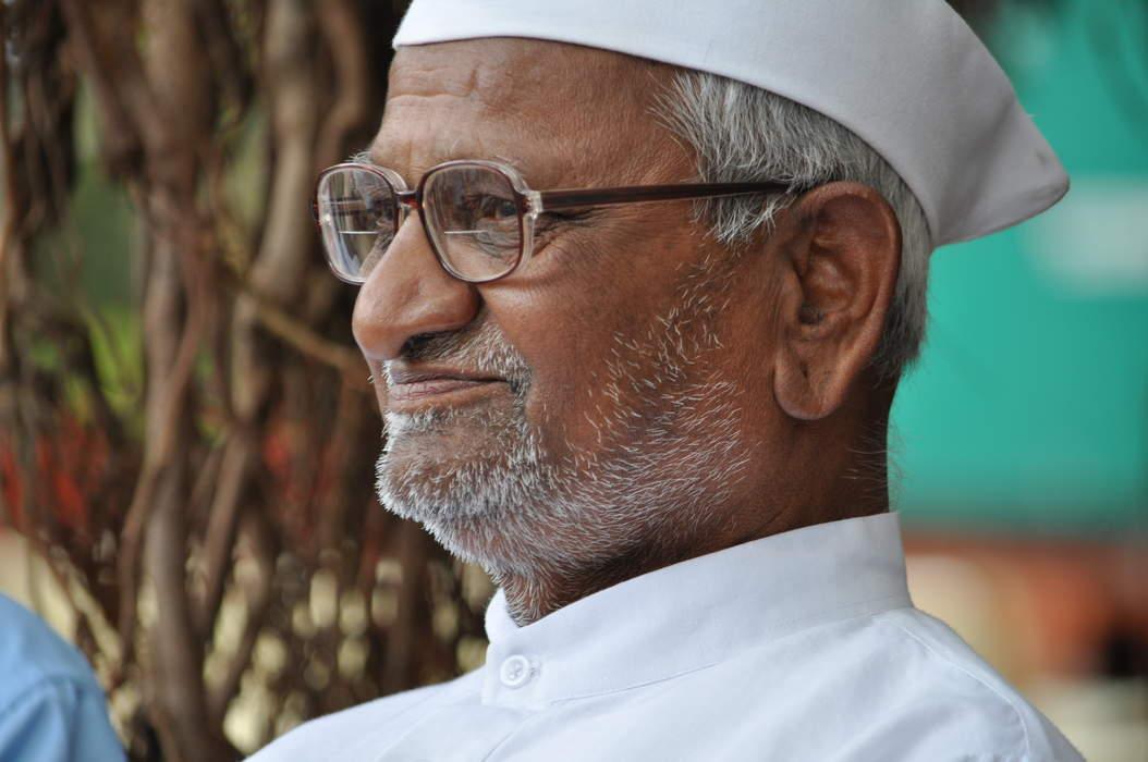 Anna Hazare: Indian activist