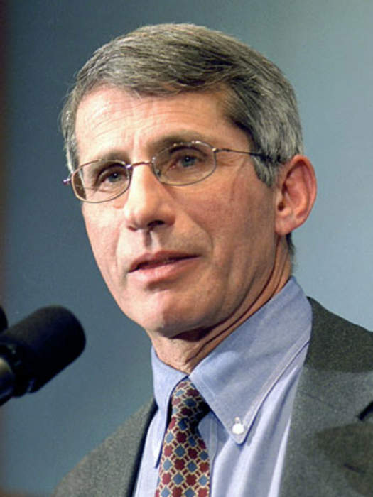 Anthony Fauci: American immunologist and NIAID director