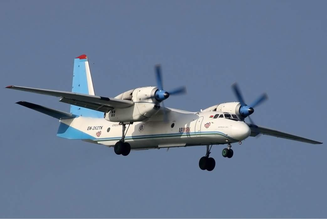 Antonov An-32: Airliner and military tactical transport aircraft by Antonov