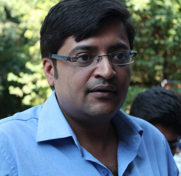 Arnab Goswami: Indian journalist and television news anchor