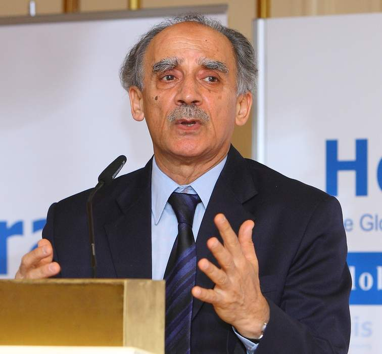 Arun Shourie: Indian journalist and politician