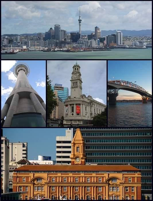 Auckland: Metropolitan area in North Island, New Zealand