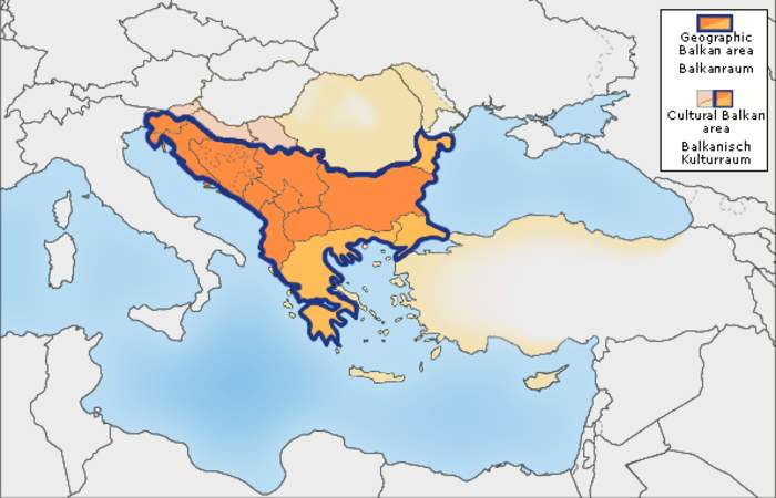 Balkans: Geopolitical and cultural region of Southeast Europe