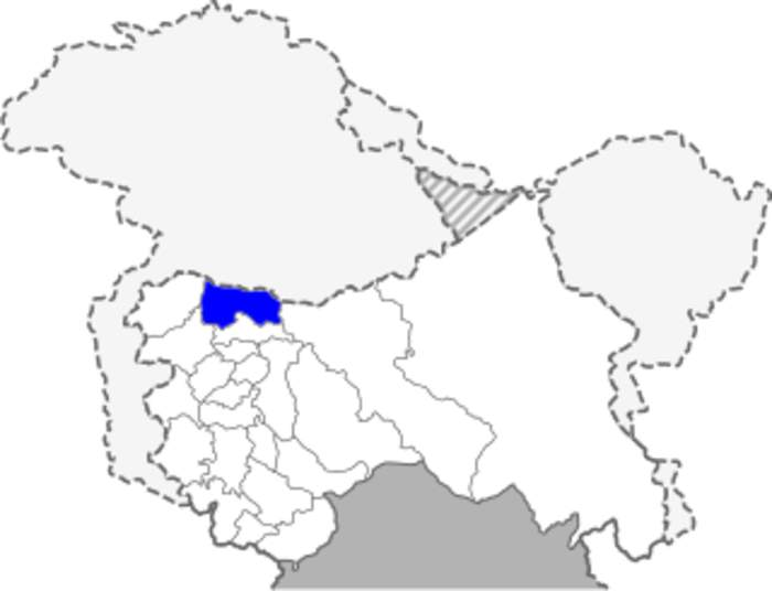 Bandipore district: District of Jammu and Kashmir in India