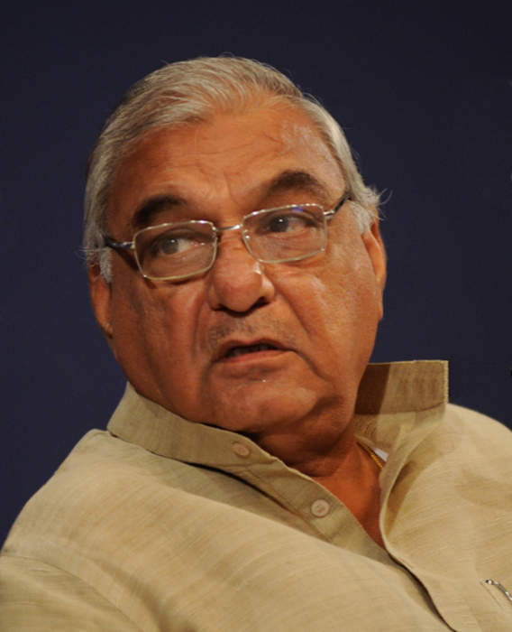 Bhupinder Singh Hooda: Indian politician and Former Chief Minister of Haryana