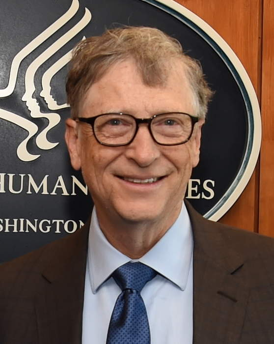 Bill Gates: American businessman and philanthropist