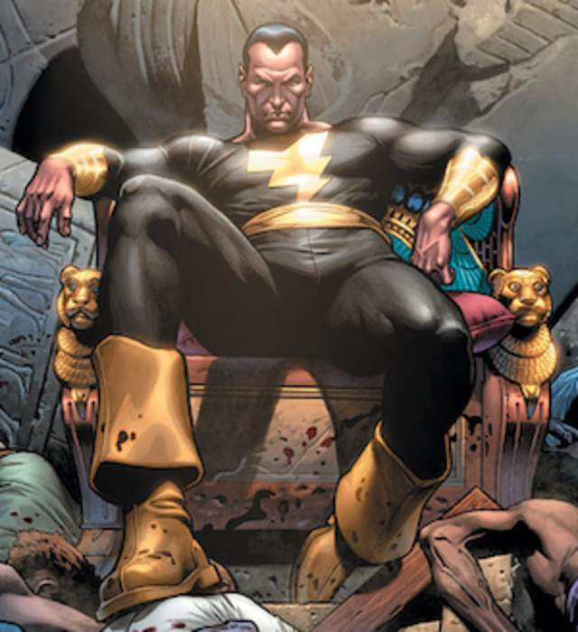Black Adam: Comic book supervillain