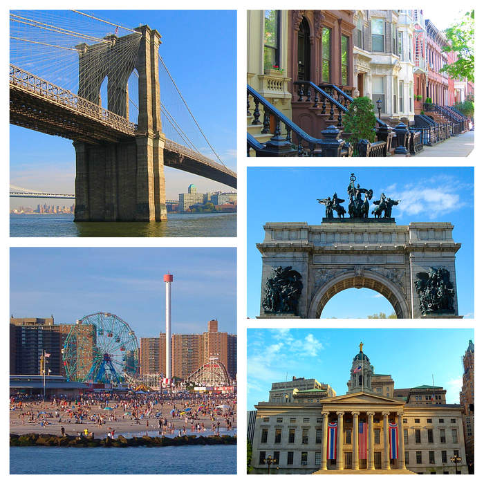 Brooklyn: Borough in New York City and county in New York state, United States