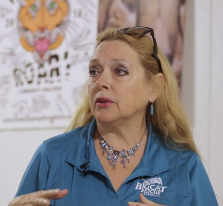 Carole Baskin: American animal rights activist