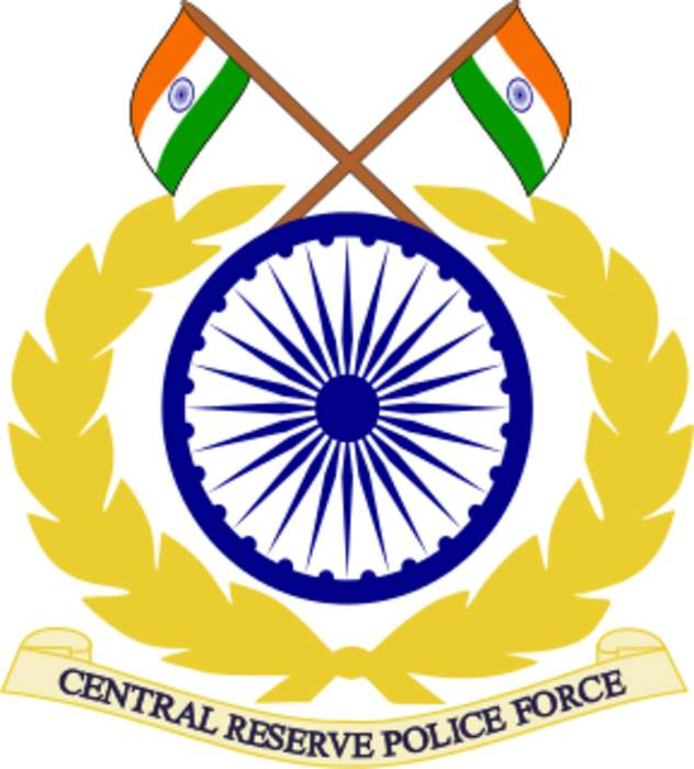 Central Reserve Police Force: Indian national police force
