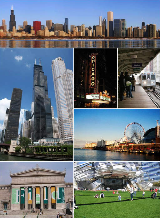 Chicago: City and county seat of Cook County, Illinois, United States
