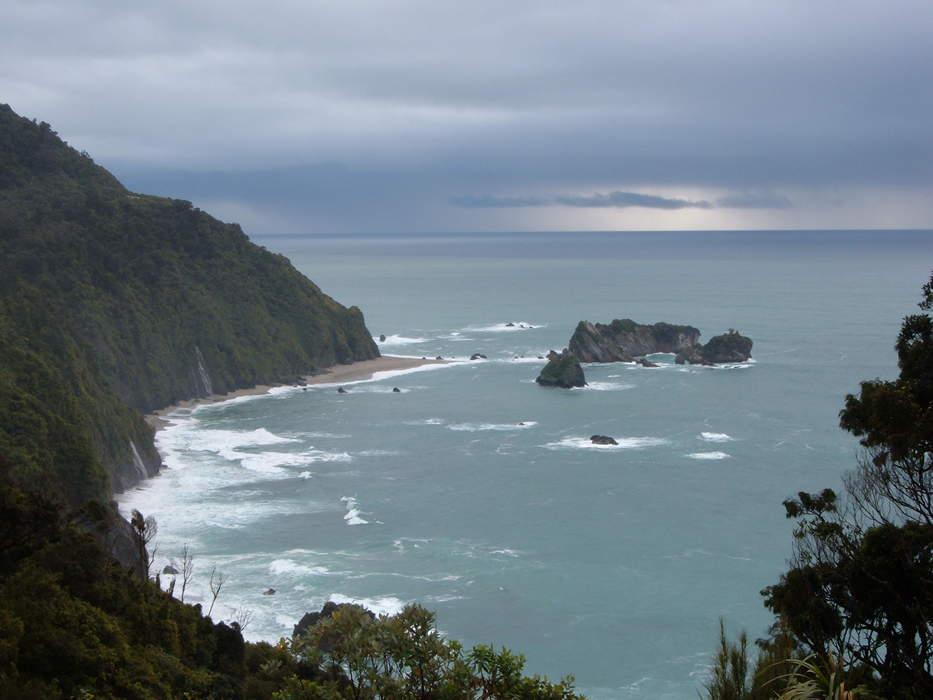 Coast: Area where land meets the sea or ocean