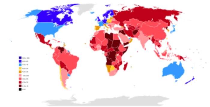 Corruption Perceptions Index: Wikimedia list article