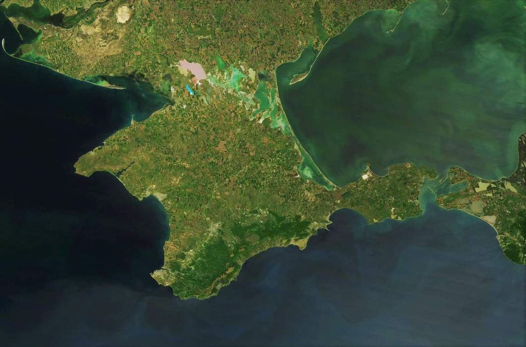 Crimea: Peninsula in the Black Sea