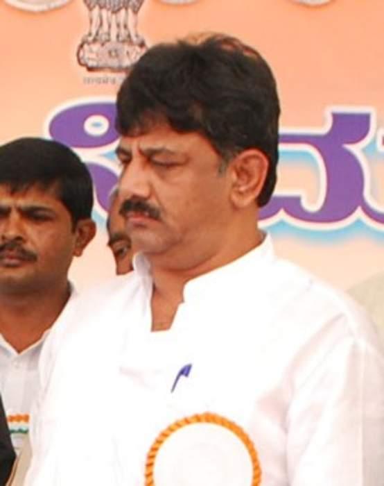 D. K. Shivakumar: Indian politician