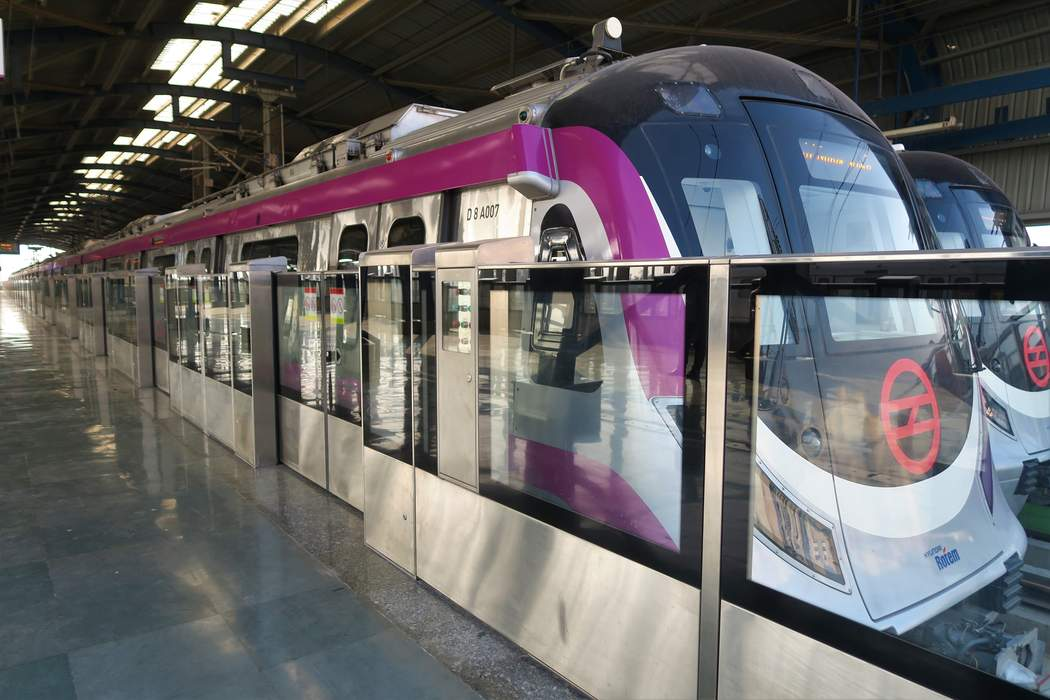 Delhi Metro: Rapid transit system in India serving Delhi and surrounding region
