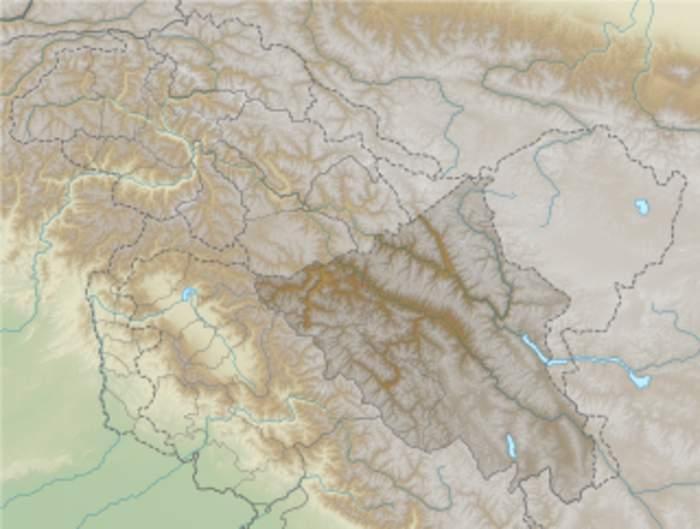 Depsang Plains: Plains at the north of Aksai Chin divided between China and India