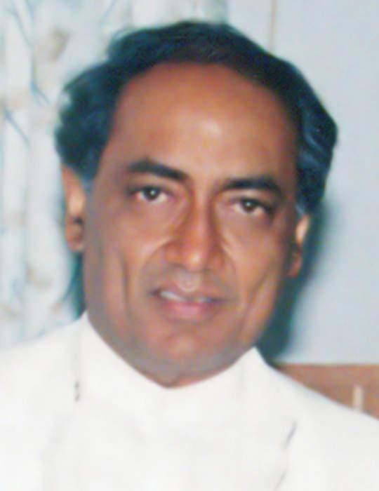 Digvijaya Singh: Indian politician