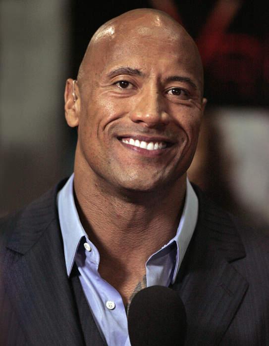 Dwayne Johnson: American actor and professional wrestler