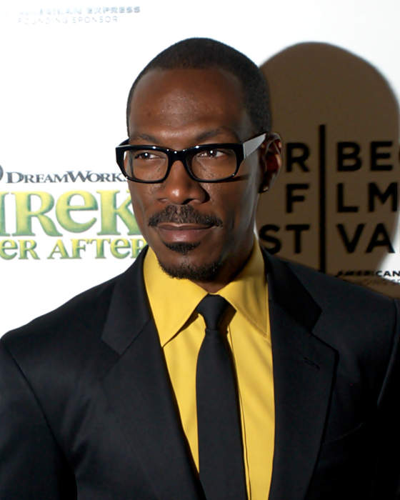 Eddie Murphy: American comedian, actor, and singer from New York