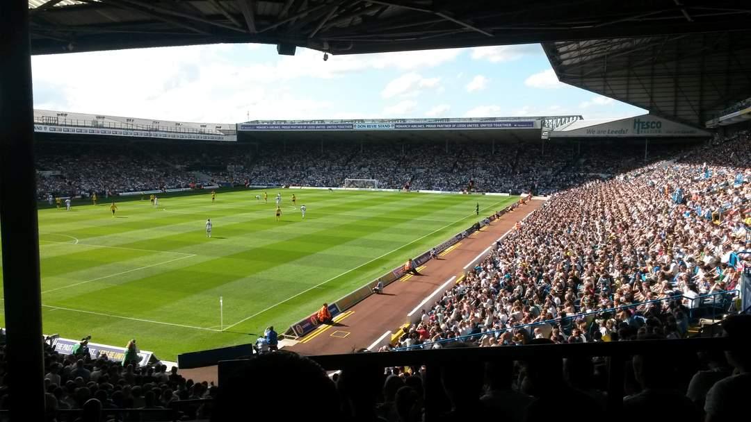 Elland Road: Football stadium in Leeds, West Yorkshire, England