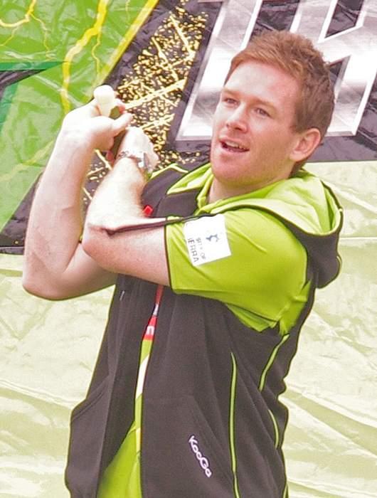Eoin Morgan: Irish-English cricketer