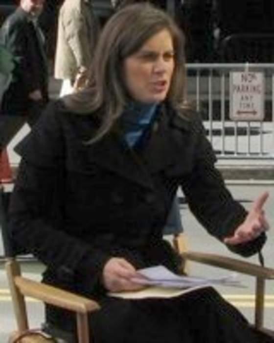 Erin Burnett: American news anchor