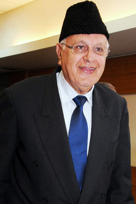 Farooq Abdullah: Kashmiri politician from Indian administratored region of Kashmir