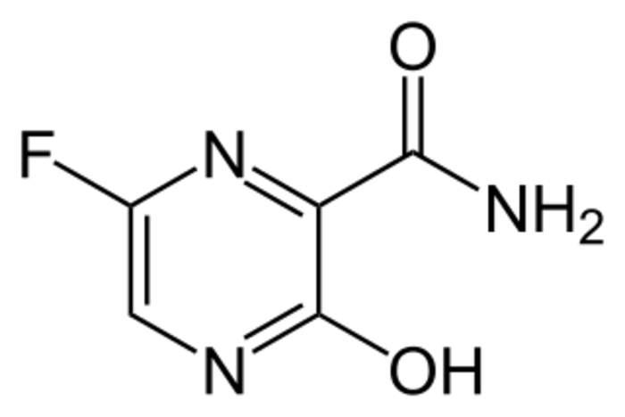 Favipiravir: Experimental antiviral drug with potential activity against RNA viruses