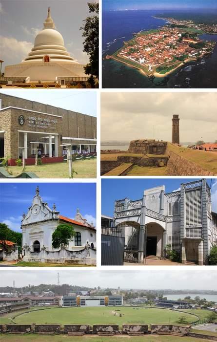 Galle: City in Southern Province, Sri Lanka