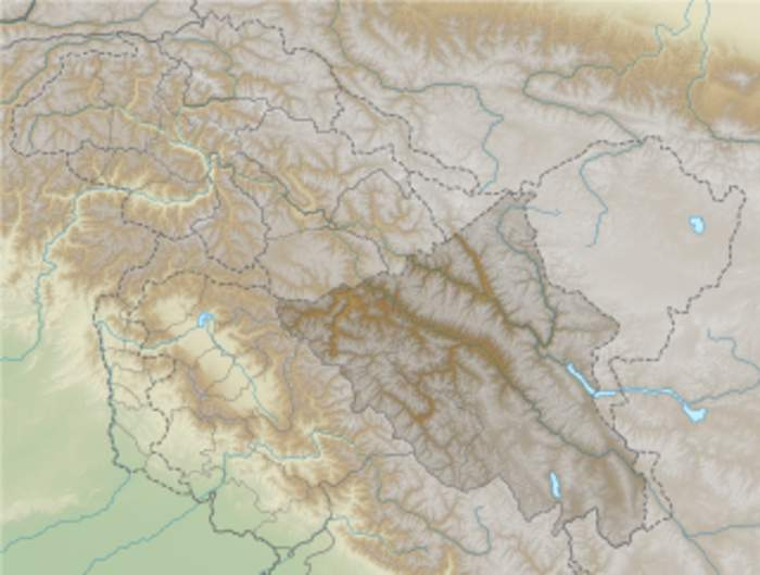 Galwan River: River in disputed Aksai Chin region