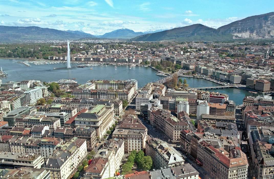 Geneva: Large city in Switzerland