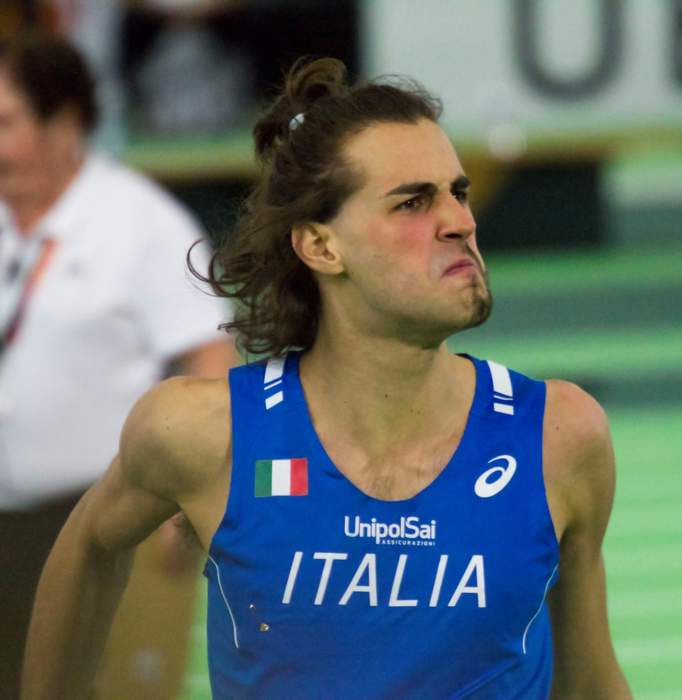 Gianmarco Tamberi: Italian high jumper