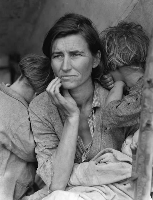 Great Depression: Worldwide economic depression (1929-1930s)