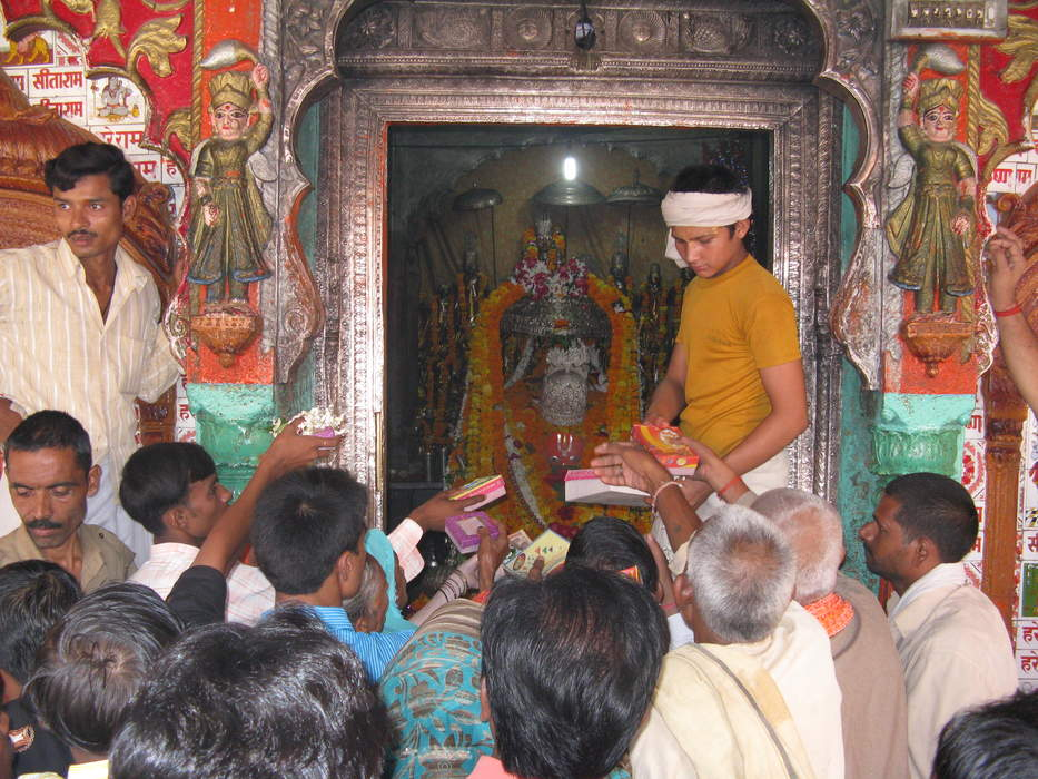 Hanuman Garhi Temple: