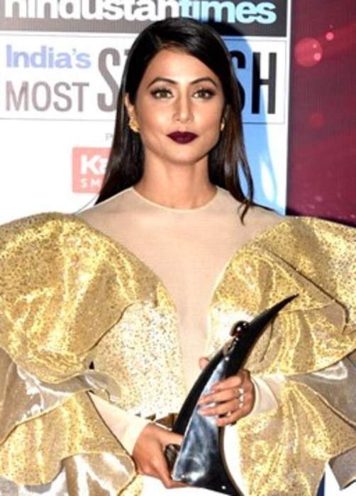 Hina Khan: Indian television actress