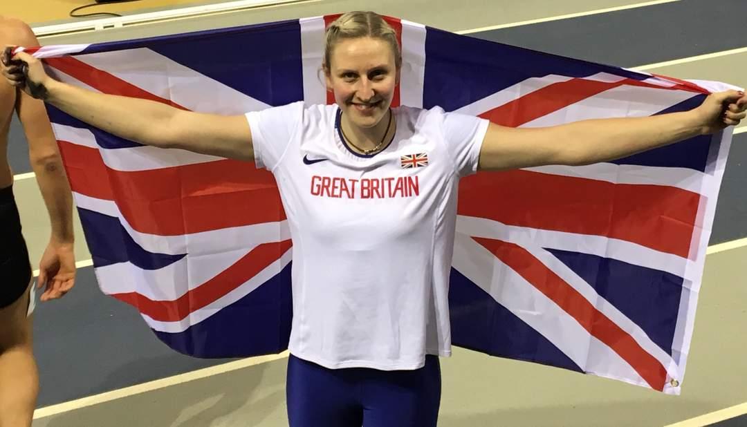 Holly Bradshaw: British pole vaulter