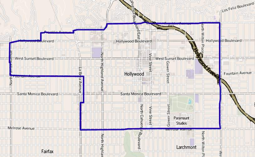 Hollywood: District in Los Angeles, California, United States