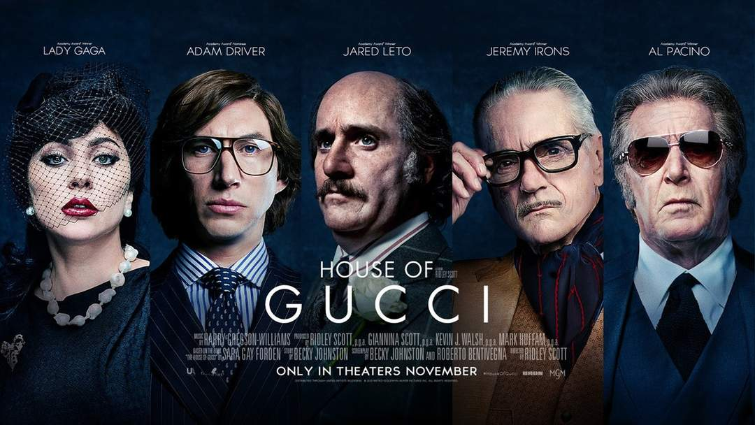 House of Gucci: Upcoming film by Ridley Scott