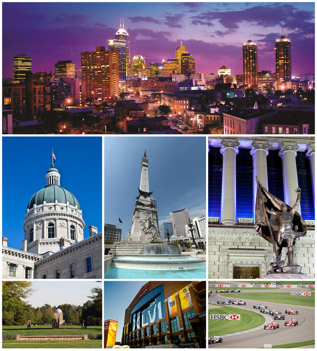 Indianapolis: State capital and Consolidated City County in the United States