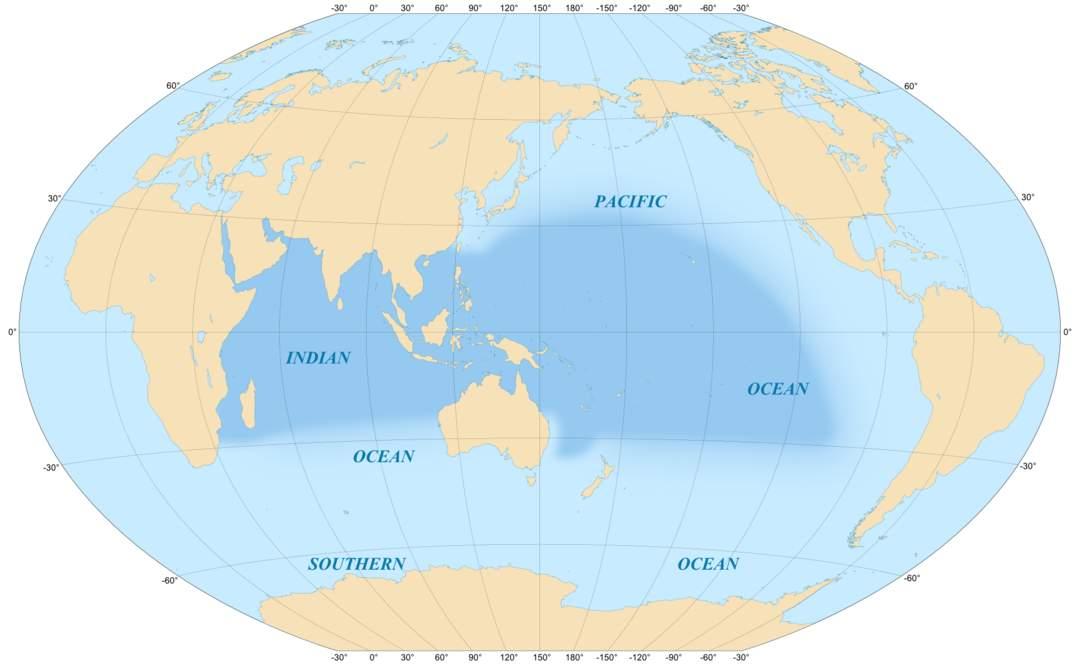 Indo-Pacific: A biogeographic region of Earth's seas