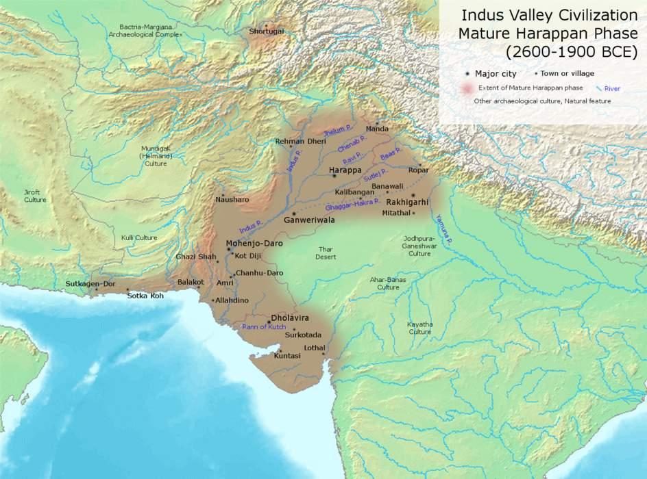 Indus Valley Civilisation: Bronze Age civilisation in South Asia
