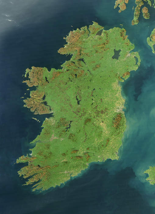 Ireland: Island in north-west Europe divided into the Republic of Ireland and Northern Ireland