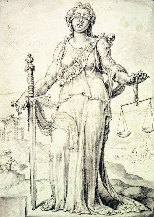 Justice: Concept of moral fairness and administration of the law