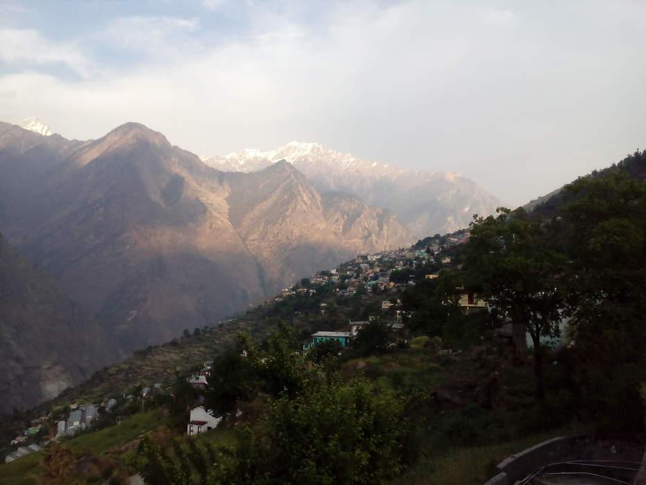 Joshimath: Town in Uttarakhand, India