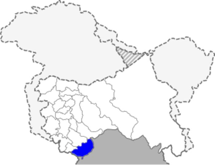 Kathua district: District of Jammu and Kashmir in India