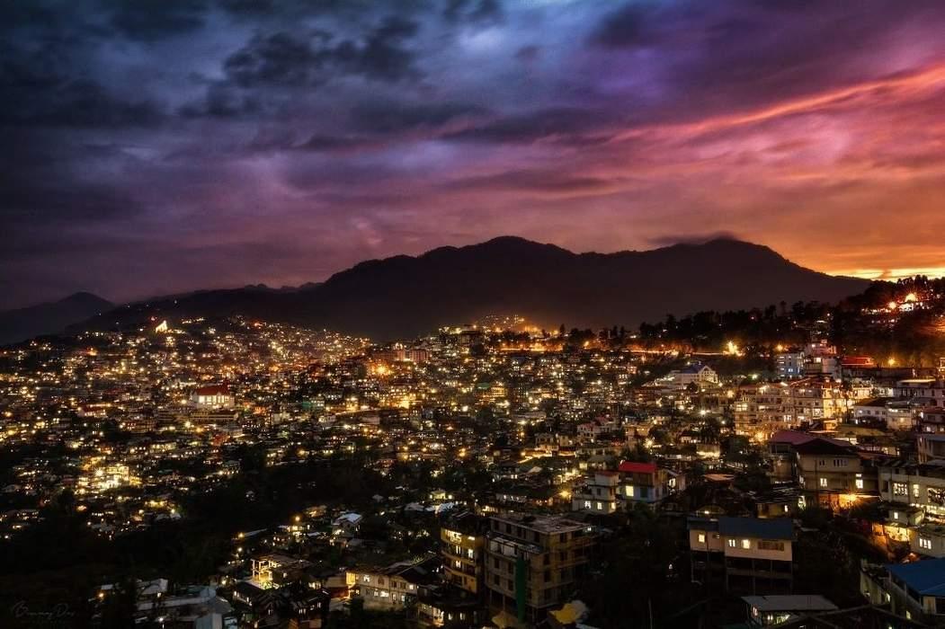 Kohima: Capital city of Nagaland, India