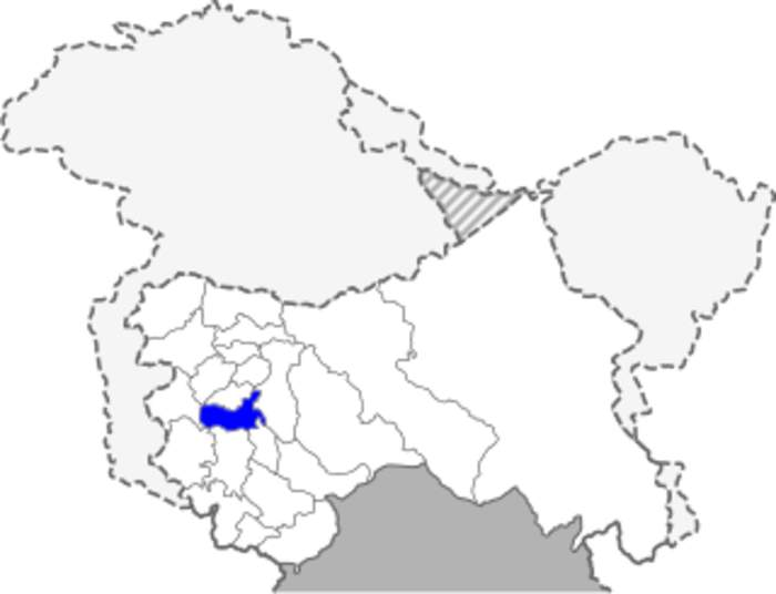Kulgam district: District of Jammu and Kashmir in India